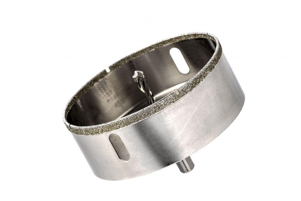 Сверло алмазное коронка по керамограниту, 110 х 67 мм, 3-гранный хвостовик// Matrix