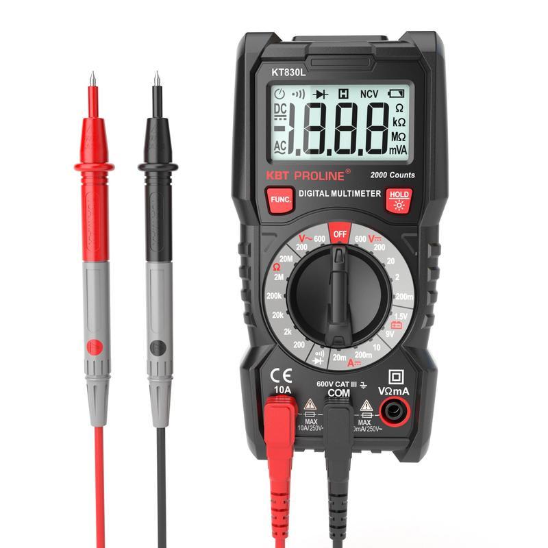 Мультиметр цифровой (КВТ) KT 830L Proline