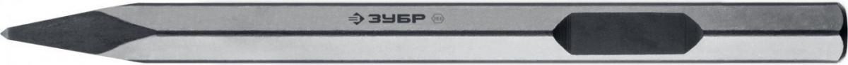 Зубило ЗУБР HEX 28,6 (Макита тип) пикообразное 400 мм