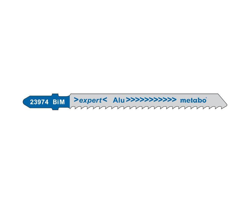 Пилки для лобзика Metabo металл 51 мм (1,2мм) HCS (3 шт)
