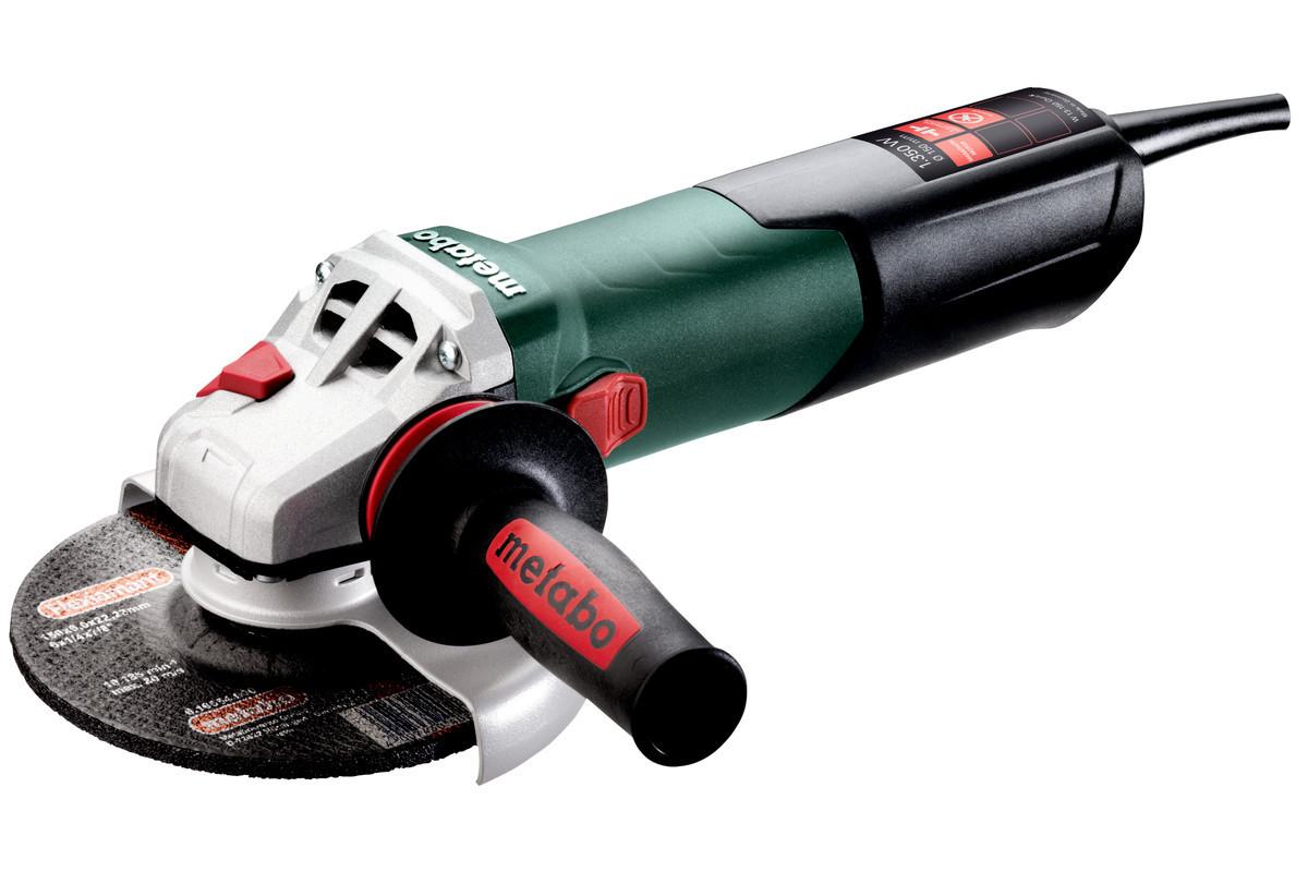 УШМ Metabo 150 мм W 13-150 Quick (1350Вт, 150мм)