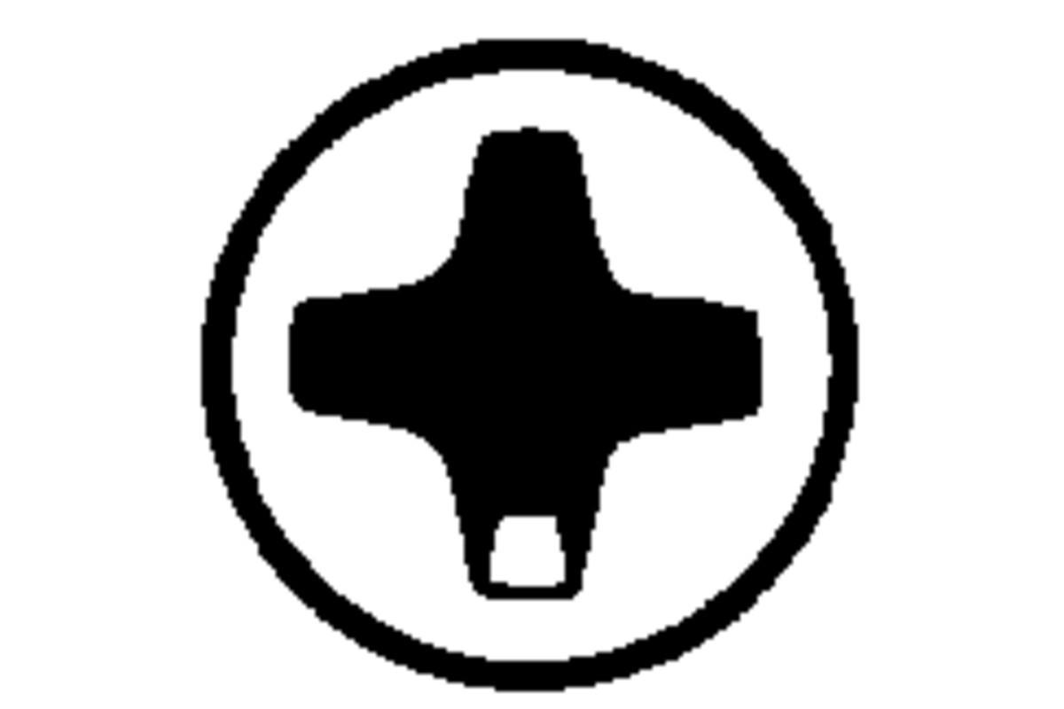 Набор битMetabo phillipsPH1/2/3torsion (3 шт.)