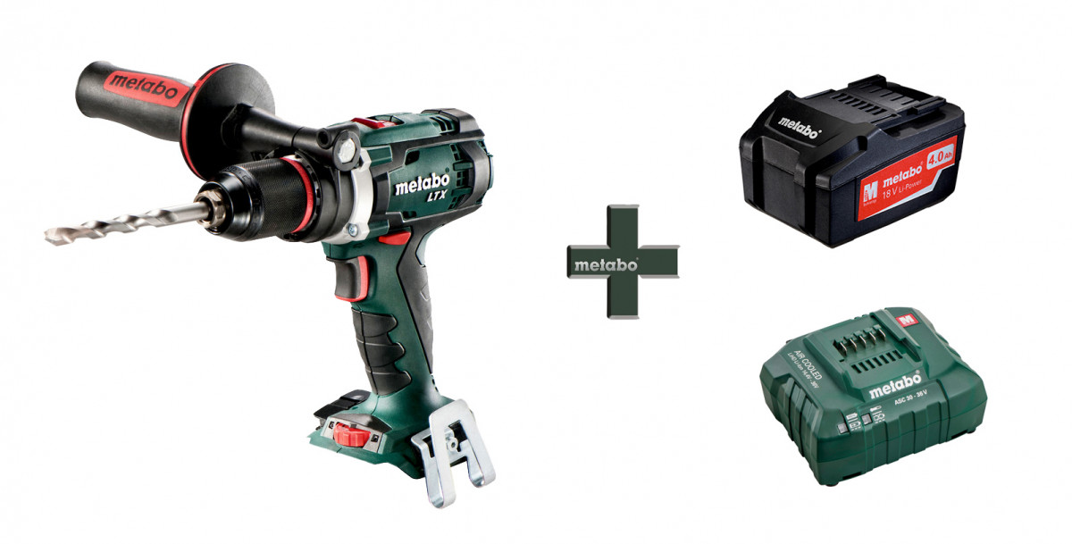 Шуруповерт Metabo BS 18 LTX Impuls (1х4 Ач, Li-lon) РЫБАЦКИЙ 110 Нм