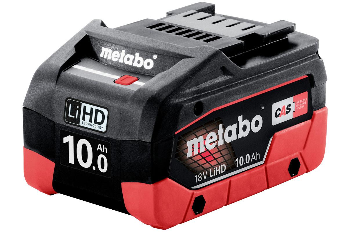 Аккумулятор Metabo LiHD 18В 10.0 Ач в инд.упаковке