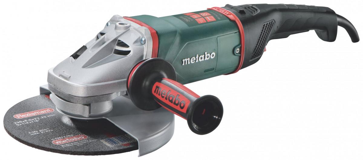 Metabo 606475000 Угловая шлифмашина WE 26-230 MVT Quick, 2600 Вт