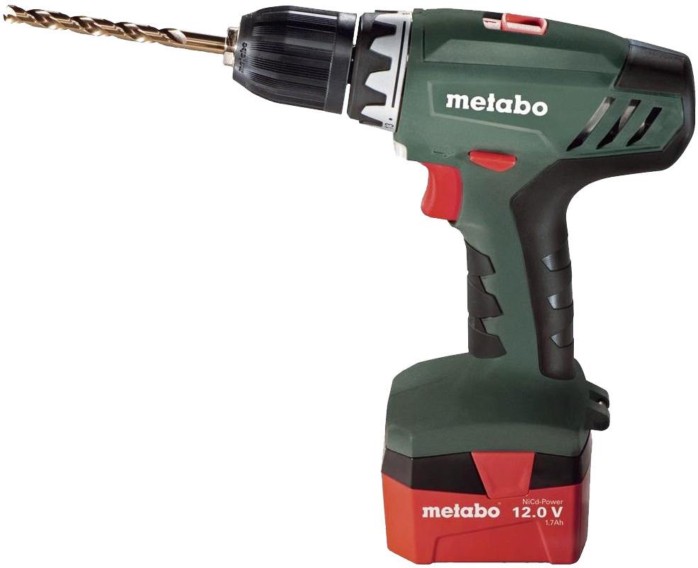 Аккумуляторный винтоверт Metabo BS 12 NiCd 602194880