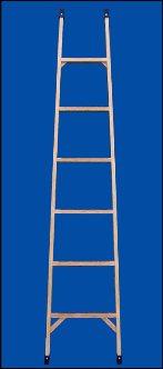 Лестница стреклопластиковая