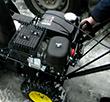 Запуск двигателя Huter SGC 4000